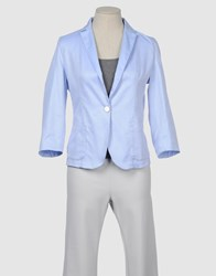 Sucre Suits And Jackets Blazers Women Sky Blue