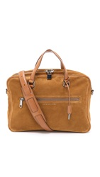 Marc By Marc Jacobs Embossy Suede Johnny Briefcase Woodruff