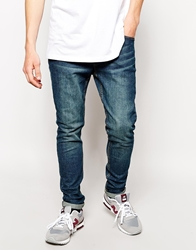 D Struct Super Skinny Jeans Blue