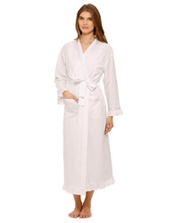 Eileen West Spring Blossom Long Robe White