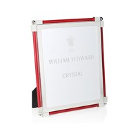 William Yeoward Classic Shagreen Scarlet Photo Frame 8'X10