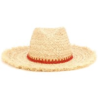 Hat Attack Raffia Hat Beige