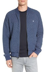 Original Penguin Men's Quilted Track Jacket