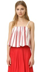 Club Monaco Rozette Cami Red