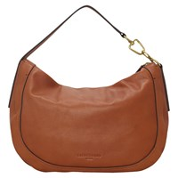 Liebeskind Troyes Leather Hobo Bag Toffee