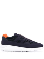 Hogan Interactive 3 Lace Up Trainers Blue