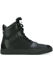 Helmut Lang Hi Top Sneakers Black