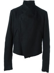 Lost And Found Ria Dunn Slashed Sleeve Jacket Black