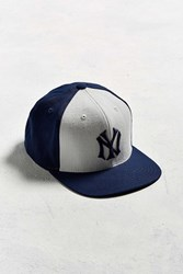 American Needle Big Show Ny Yankees Baseball Hat Blue Multi