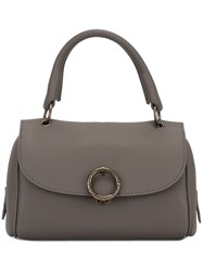 Agnona Mini 'Gloria' Tote Grey