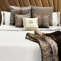 Roberto Cavalli Basic Duvet Set Super King Ivory