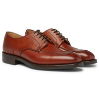 Cheaney Chiswick R Full Grain Leather Derby Shoes Brown