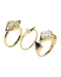 Noir Jewelry Rings Gold