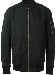 Rick Owens Drkshdw 'Flight' Bomber Jacket Black