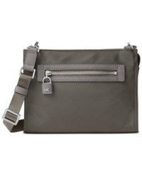 Michael Kors Janie Large East West Crossbody Graphite