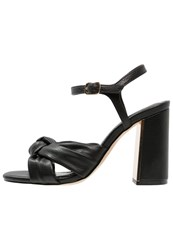 Office Snap Sandals Black
