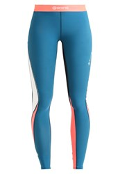 Skins Dnamic Tights Cerulean Petrol