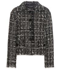 Dolce And Gabbana Tweed Jacket Multicoloured