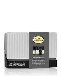4 Elements Of The Perfect Shave Mid Size Kit Unscented Black The Art Of Shaving