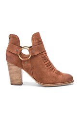 Seychelles Impossible Booties Cognac