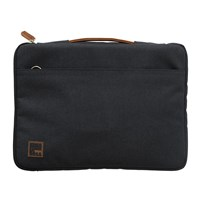 Kreafunk Asleeve Laptop Case Pu Leather Canvas Anthracite