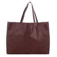 Collection Weekend By John Lewis Morgan Raw Edge Leather Tote Bag