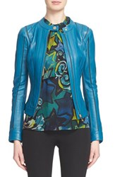 Women's Versace Collection Leather Jacket