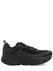 Hoka One One 33Mm Bondi 6 Sneakers Black