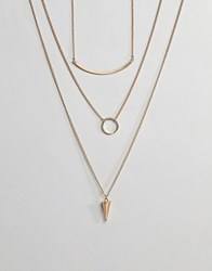 Ashiana Pendant Necklace Gold