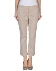 Siviglia Denim Casual Pants Beige
