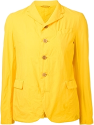 Arts And Science Fitted Blazer Yellow And Orange
