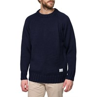 Mki Miyuki Zoku Navy Fisherman Knit Sweater Blue