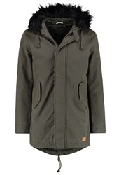 Jack And Jones Jorbenson Parka Forest Night Khaki