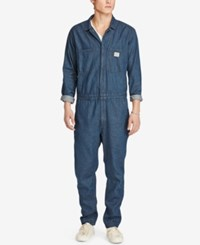 Denim And Supply Ralph Lauren Men's Cotton Coverall Blue