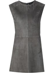 Joseph Suede Tank Top Grey