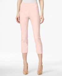 Styleandco. Style And Co. Pull On Capri Pants Only At Macy's Pink Bliss