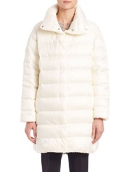 Ralph Lauren Cocoon Down Puffer Natural