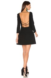 Baandsh Taxi Dress Black