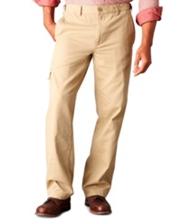 Dockers Big And Tall D3 Classic Fit Comfort Khaki Cargo Flat Front Pants Desert Sand