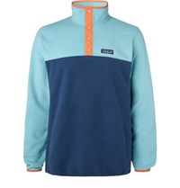 Patagonia Micro D Snap T Fleece Sweatshirt Blue