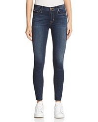 Hudson Raw Ankle Skinny Jeans In Wanderer