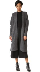 Dkny Pure Drop Shoulder Cardi Coat Charcoal