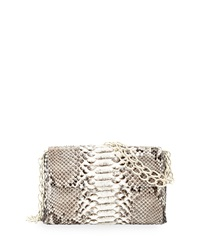 Nancy Gonzalez Crocodile Python Small Chain Strap Bag