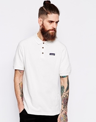 Patagonia Polo With Logo Regular Fit White