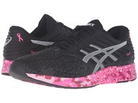 Asics Fuzex Pr Black White Pink Ribbon Men's Running Shoes