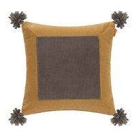 Etro Picardie Cushion 45X45cm Mustard Yellow Beige