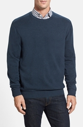 Cutter And Buck 'Broadview' Crewneck Sweater Navy Heather