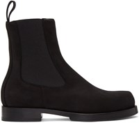 Alyx Black Suede Chelsea Boots