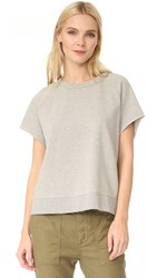 Free People That Tee Pullover Grey