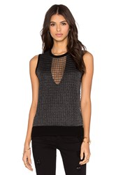 Paige Abril Sweater Charcoal